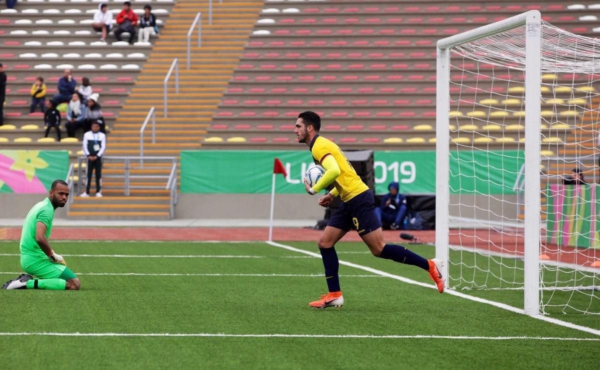 Ecuador y Panamá empatan 1-1 en los Juegos Panamericanos