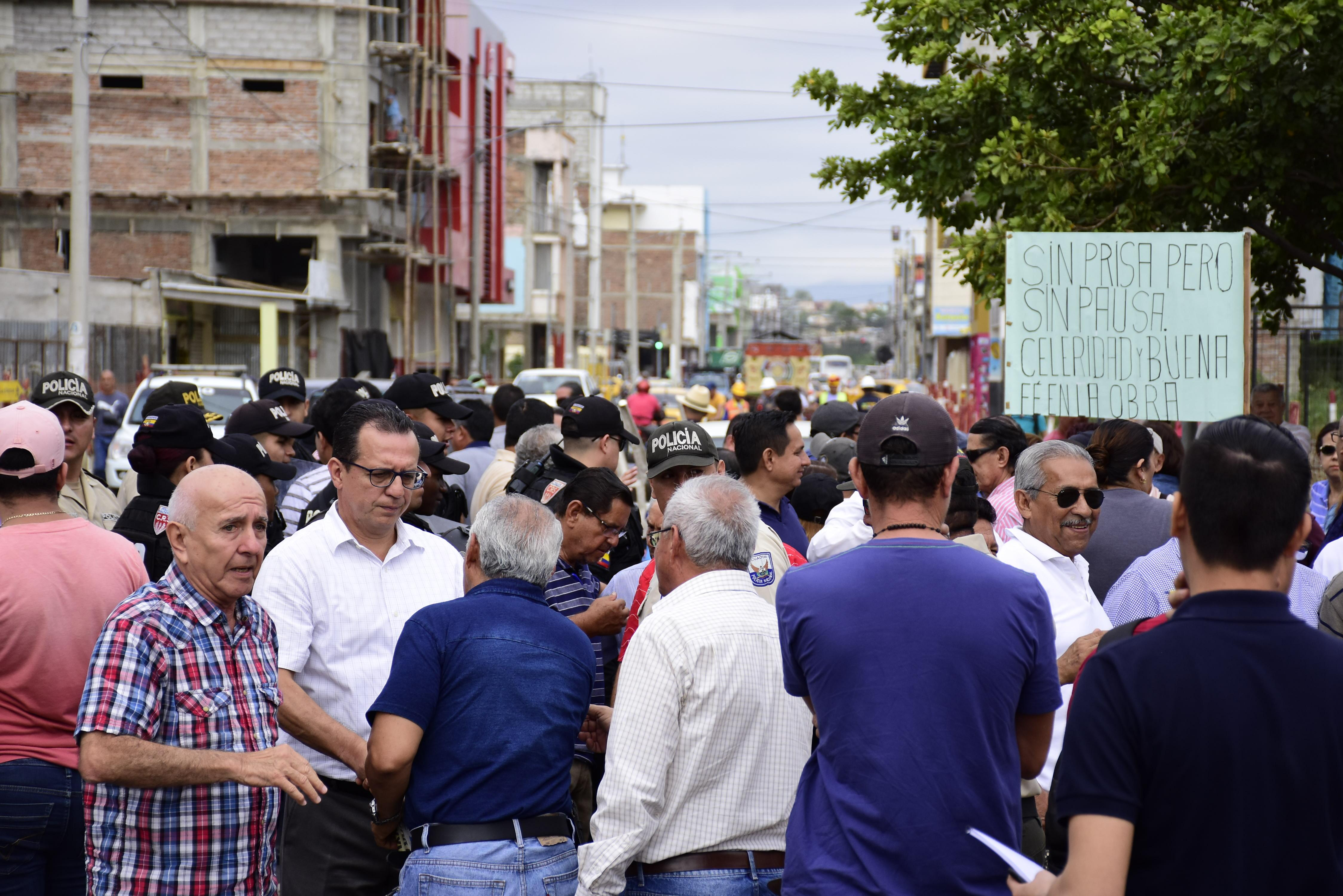 Comerciantes y colectivos no quieren que la regeneración cambie el ancho de la calle Pedro Gual