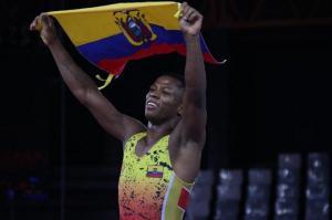 Andrés Montaño logró oro en lucha grecorromana de los Panamericanos de Lima