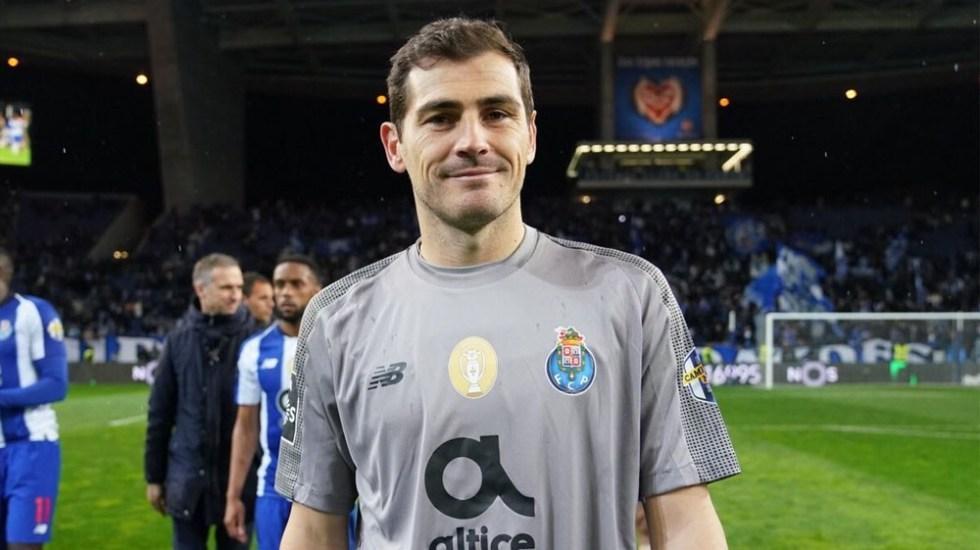 El Oporto inscribe a Iker Casillas en la Liga Portuguesa