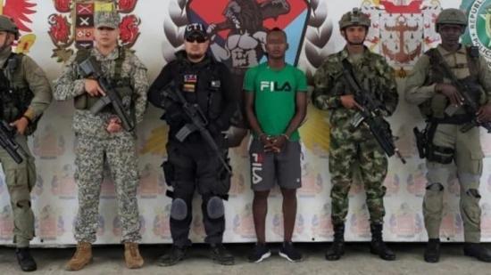 Capturan en Colombia disidente de las FARC implicado en asesinato de ecuatorianos