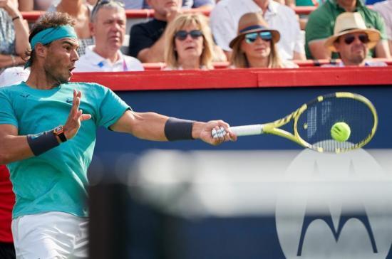 Rafael Nadal renuncia al torneo de Cincinnati por fatiga