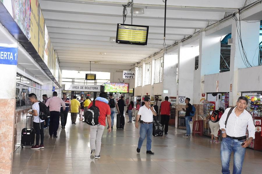 Una terminal modernizada en Santo Domingo
