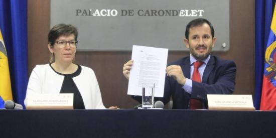 Ecuador desclasifica caso de lavado de activos durante el Gobierno anterior