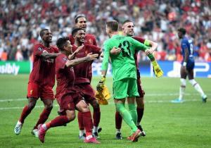 Liverpool, campeón de la Supercopa de Europa tras vencer al Chelsea en penales