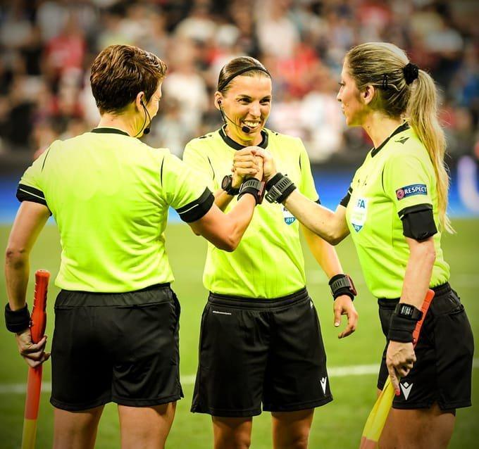 Stephanie Frappart primera mujer árbitro en una final que hace historia