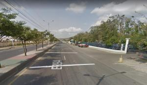 Roban un camión que esta estacionado en el Paso Lateral de Portoviejo