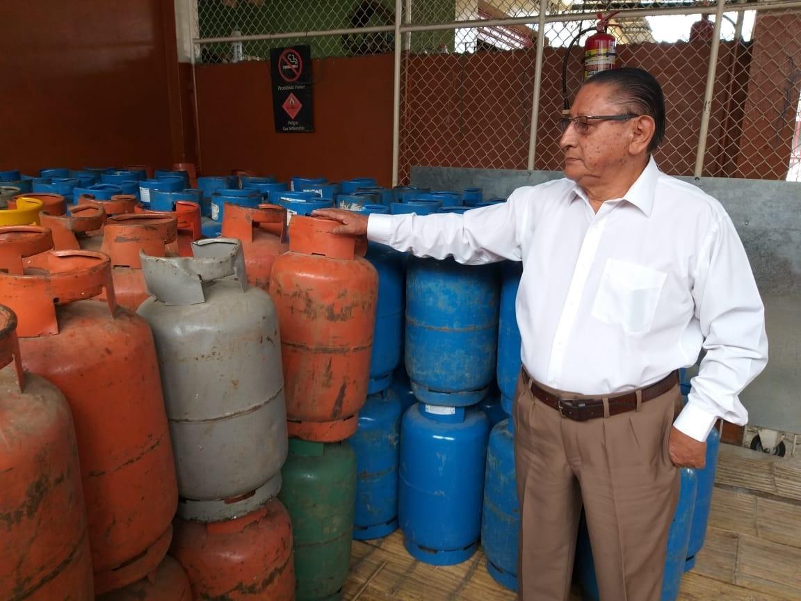 Distribuidoras con menos gas