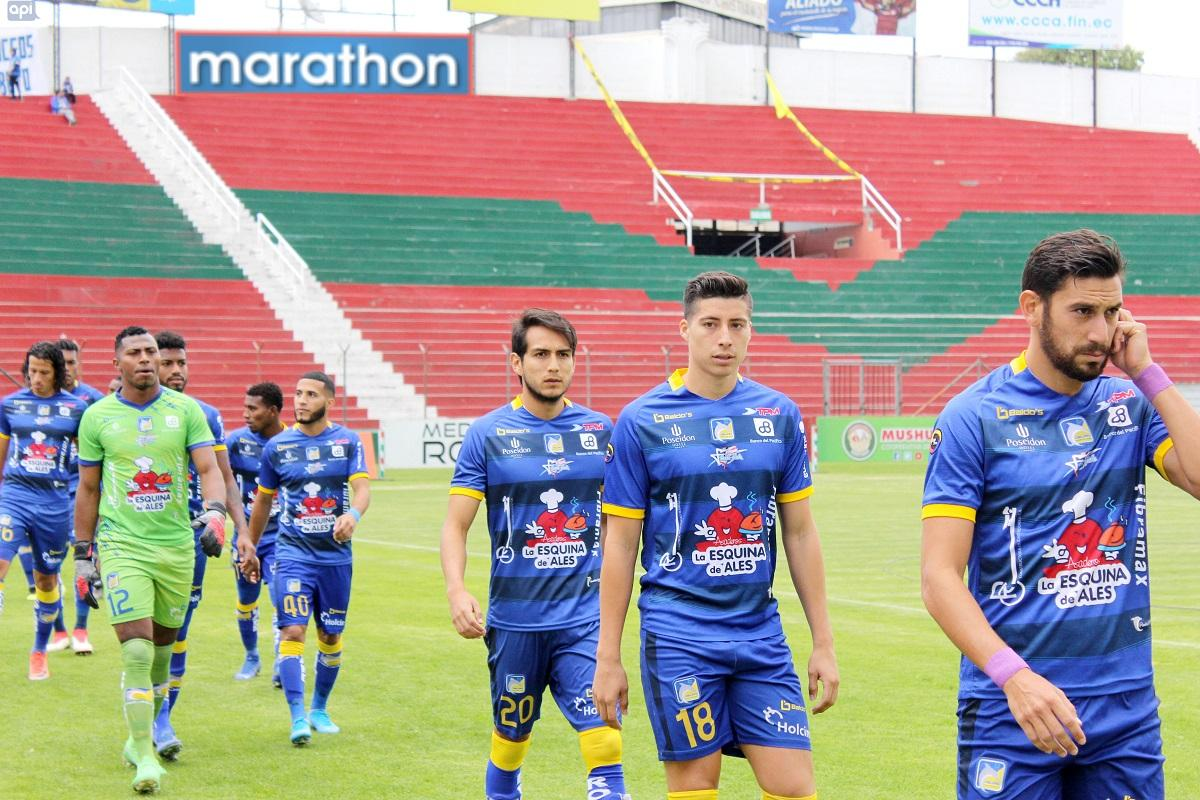 Delfín SC cae por 2-0 ante el Mushuc Runa en el estadio Bellavista