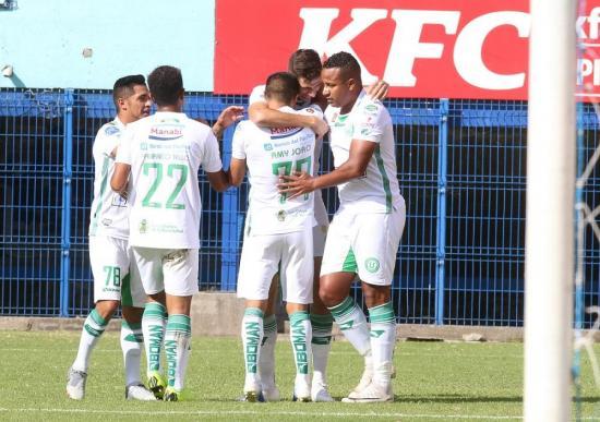 Liga de Portoviejo derrota a Clan Juvenil con hat-trick de Di Yorio [1-3]