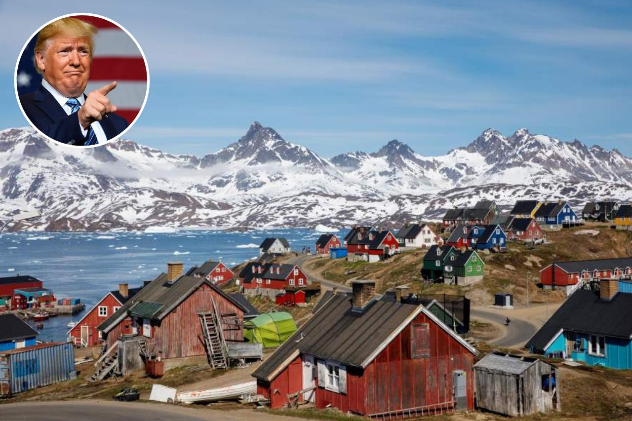 Donald Trump 'quiere echar un vistazo' a la compra de Groenlandia