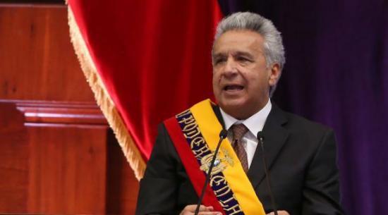 Este lunes Lenín Moreno realizó tres cambios en altos cargos de gobierno