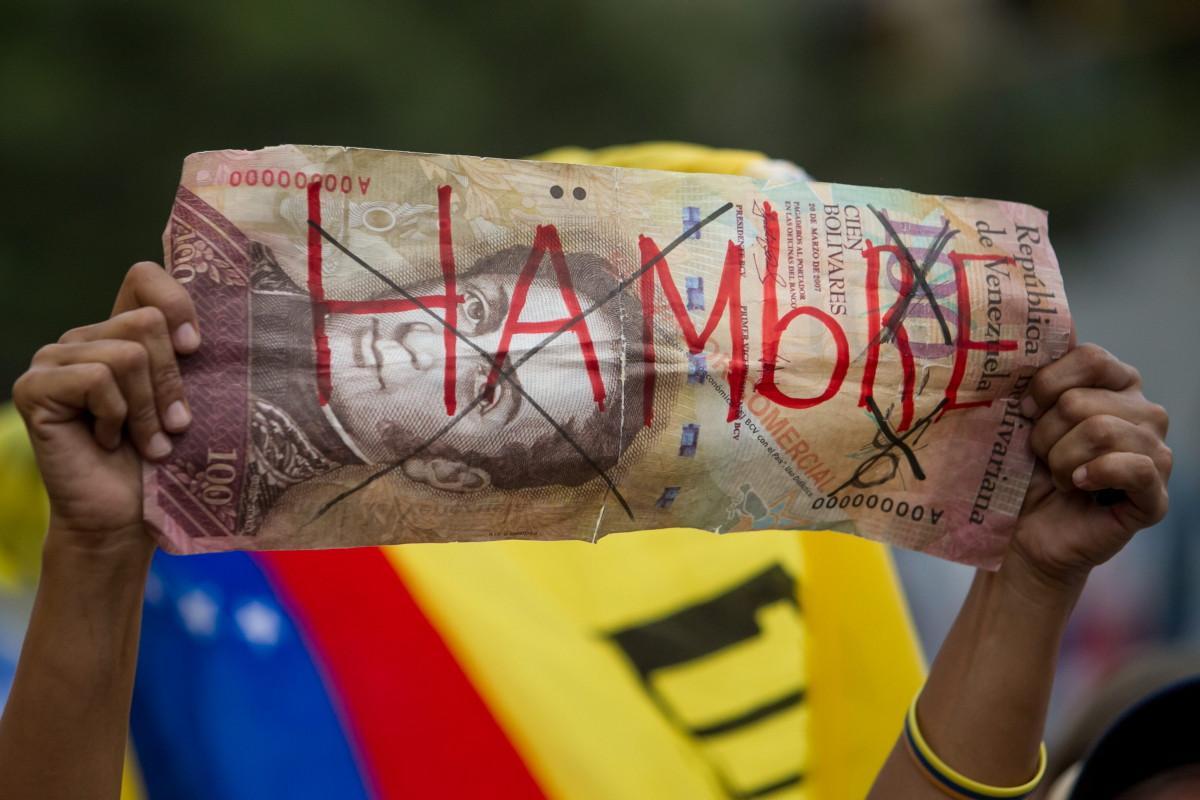 El salario venezolano llega a su punto más bajo en la historia