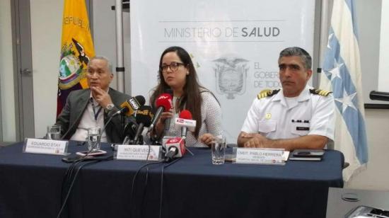 Ecuador confirma la muerte de un oficial de Marina por la gripe AH1N1
