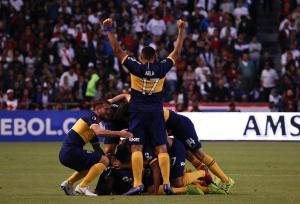Con un pie en 'semis': Boca Juniors venció por 0-3 a Liga de Quito en Casa Blanca