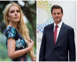 La novia del expresidente mexicano Peña Nieto desmiente rumores de boda