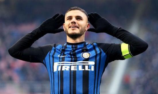 El 'excluido' Icardi toma el 7 del Inter a la espera de aclarar su futuro