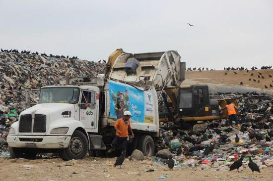 Ministerio del Ambiente logró identificar una fuga de lixiviados