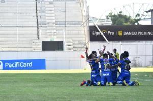 Delfín vence por 2-0 a Deportivo Cuenca en el estadio Jocay de Manta