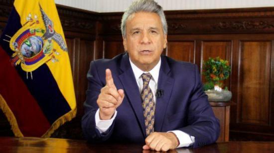 Colectivo campesino protesta en Ecuador contra el Gobierno y acuerdo con FMI