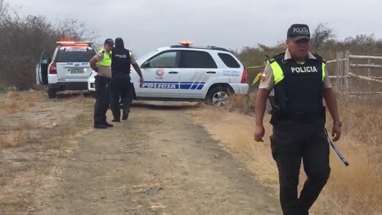 Hombre es hallado sin vida en la vía Manta-Jaramijó