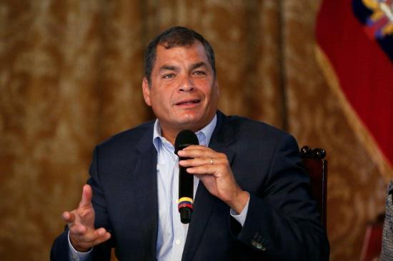 Fiscalía recibe testimonio en caso de soborno que salpica a Rafael Correa