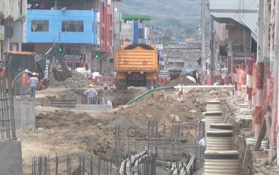 PORTOVIEJO: Trabajos de soterramiento en la Zona Cero no estarán en el tiempo establecido