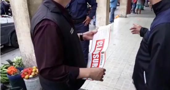 PORTOVIEJO: Comisaria Municipal realiza un operativo de control a locales comerciales