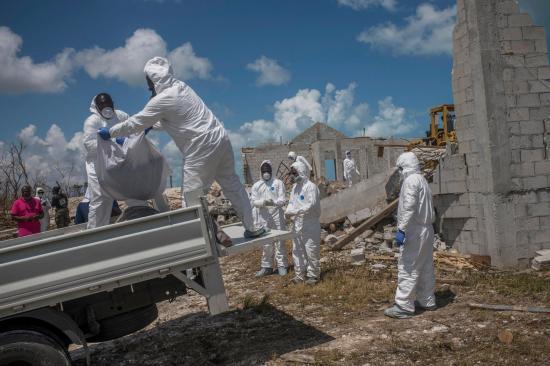 Autoridades de Bahamas estiman en 2.500 desaparecidos por el huracán Dorian