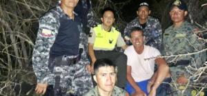 Rescatan a español extraviado en las Islas Galápagos