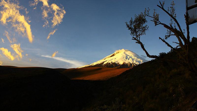 Localidad de los Andes ecuatorianos recibe a huésped de más de 700 años