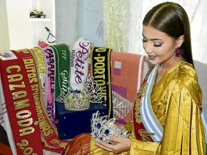 Emily Pincay ya piensa en la labor que realizará como Reina de Portoviejo