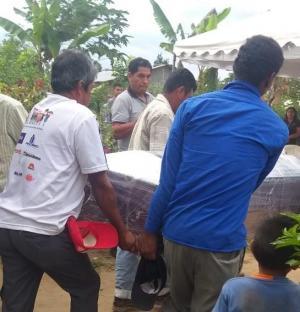 Menor asesinada fue sepultada en medio del dolor de sus familiares y amigos
