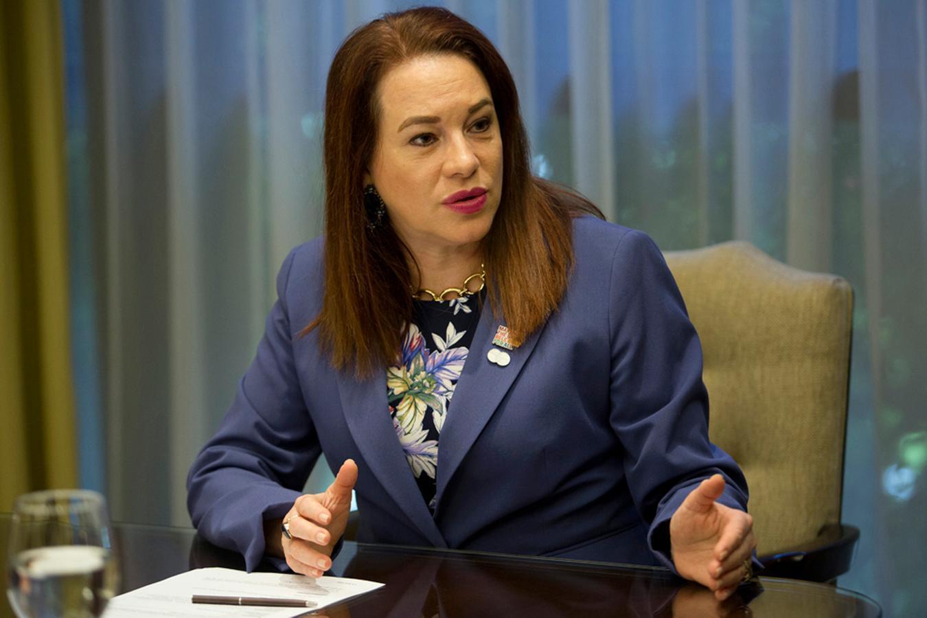 María Fernanda Espinosa: El mundo necesita un 'cambio de trayectoria'