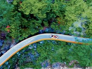 En china está el tobogán más largo del mundo