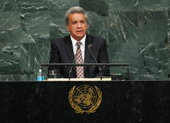 Presidente Moreno hablará en la ONU sobre la lucha contra la corrupción