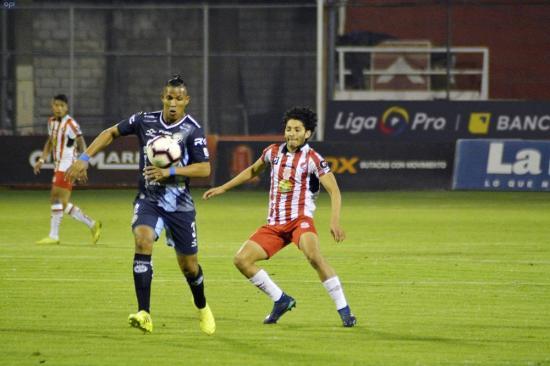 Técnico Universitario y Guayaquil City empatan en un partido lleno de goles