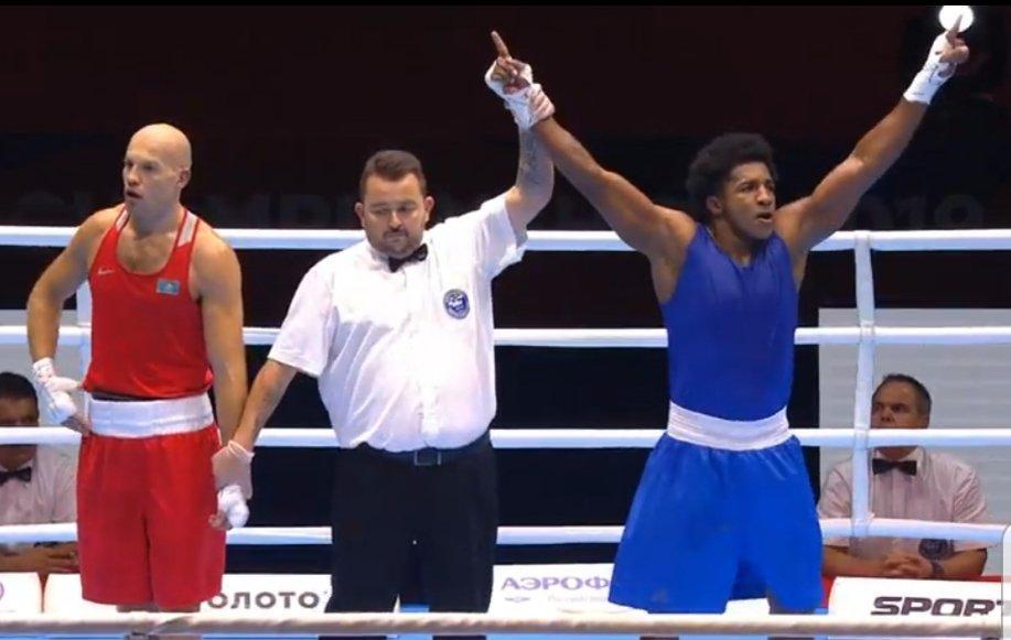 El ecuatoriano Julio Castillo logra medalla de plata en campeonato Mundial de boxeo en Rusia