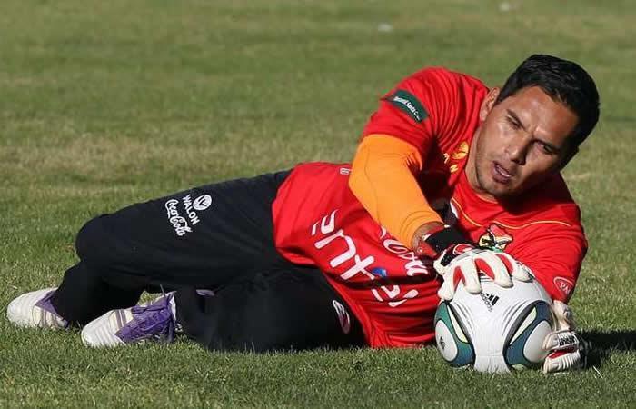 El portero boliviano Daniel Vaca con su récord de casi 41 años no piensa en el adiós
