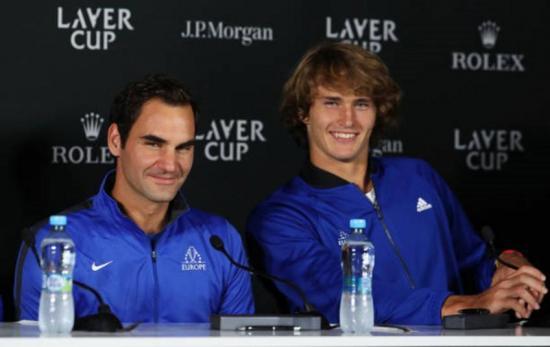 Roger Federer y Alexander Zverev se enfrentarán en Quito el 24 de noviembre