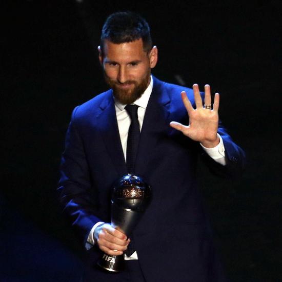 Messi gana el ''The Best'' a mejor jugador del año
