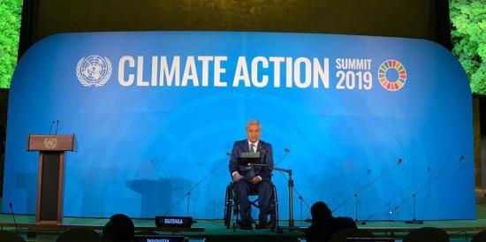 Moreno avisa del peligro del Niño para las Galápagos por el cambio climático