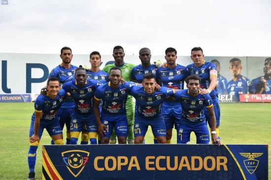 Delfín, semifinalista de la Copa Ecuador tras vencer 1-0 a Independiente Juniors