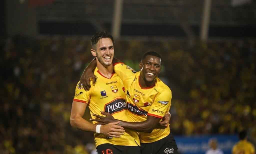 Barcelona gana a Guayaquil City y es segundo en la tabla de posiciones