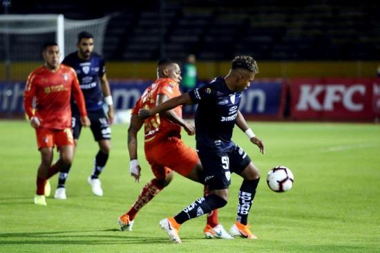 Liga de Quito vence por la mínima diferencia al finalista de la Sudamericana