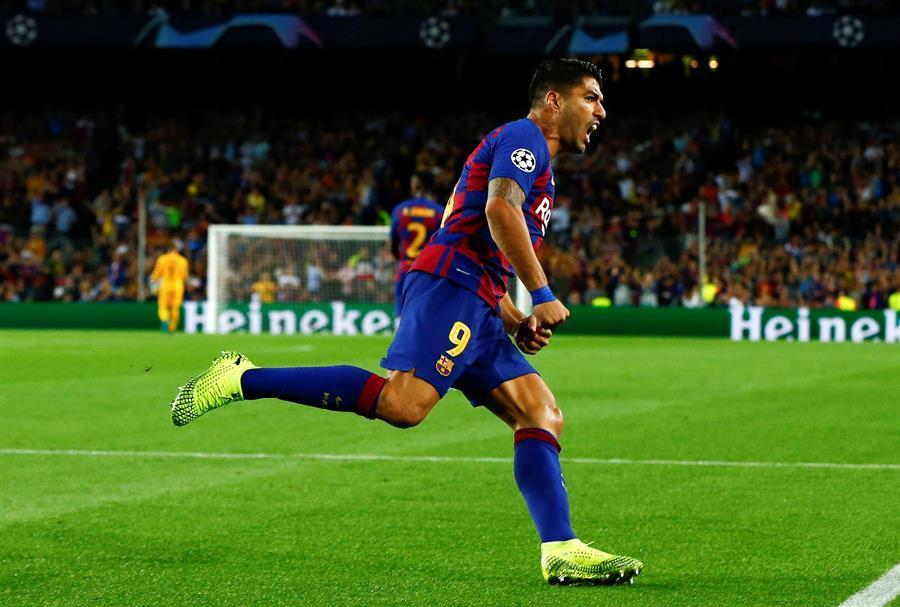 Suárez da un triunfo inimaginable al Barcelona sobre el Inter