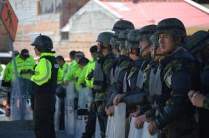 350 detenidos dejan protestas en Ecuador, según ministra