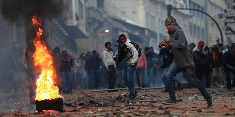 Paro nacional deja cerca de 200 detenidos durante jornada de protestas