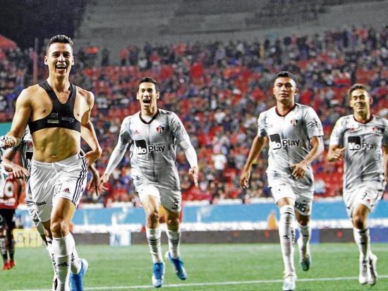 """""""Manu"""" entró y marcó el empate"""