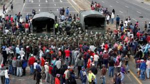 Indígenas liberan a los militares y policías retenidos en el marco de las protestas